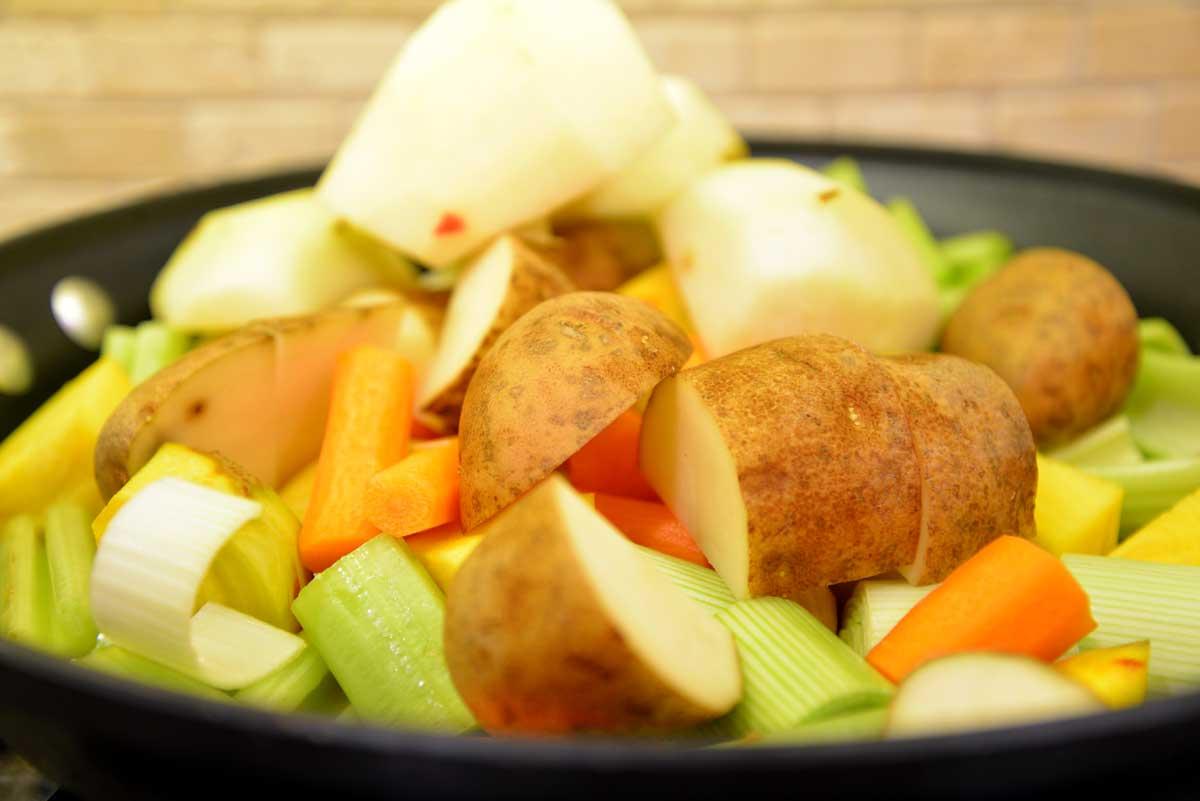 Cocotte de Légumes (it's Vegetables y'all)