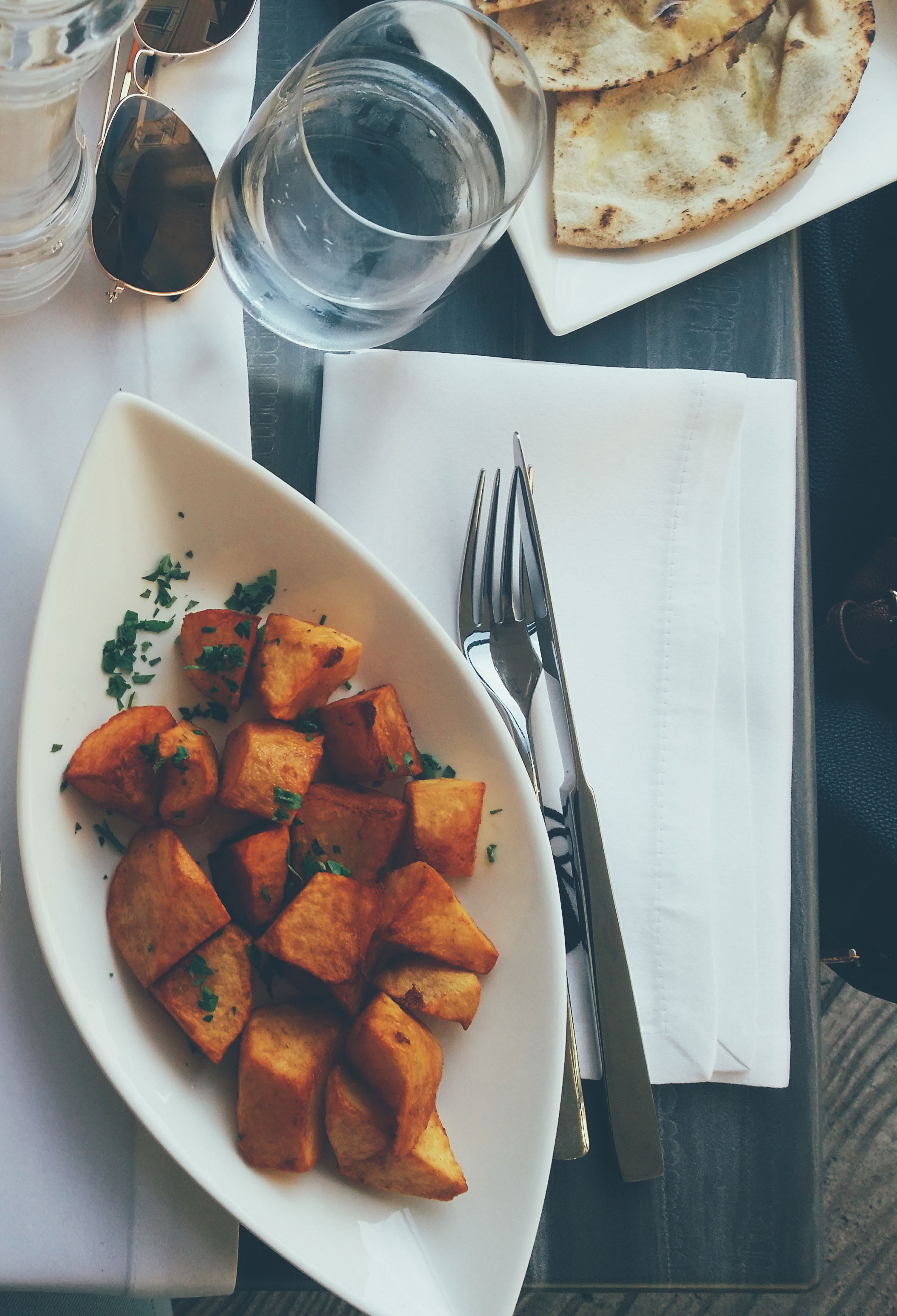 Roasted Cardamom Sweet Potatoes
