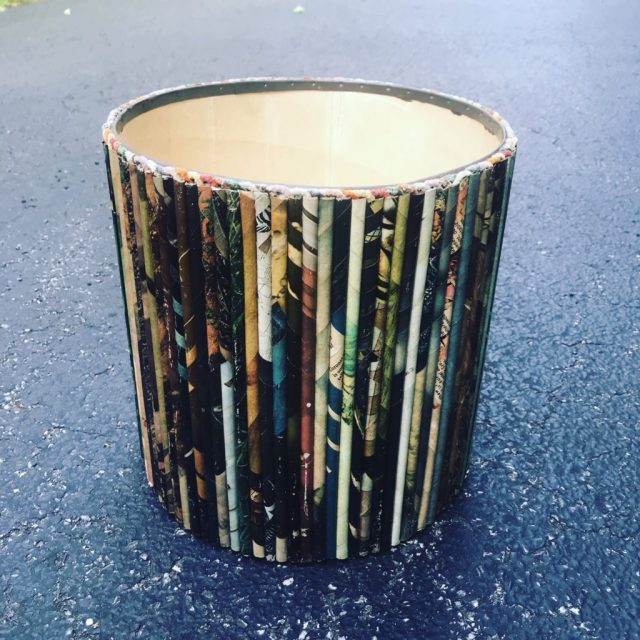 Cave Picker Magazine Waste Paper Basket