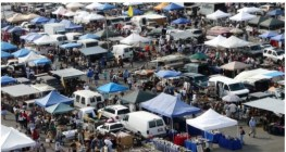 Biggest Flea Market in the united states  Long Beach Antique Market