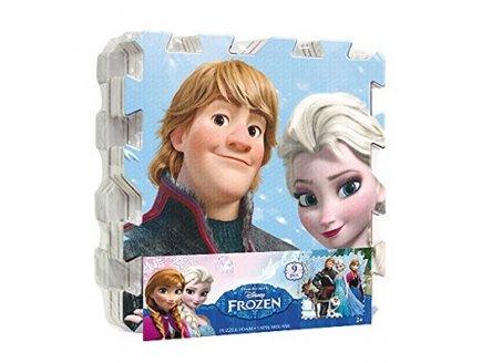 tapis puzzle mousse reine des neiges