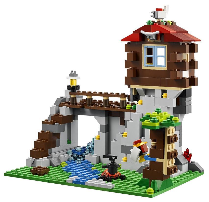 Lego 31025 Creator 3 En 1 Le Refuge De Montagne Au