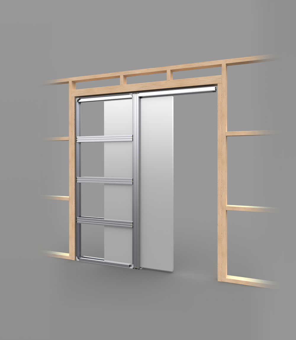 cs cavity slider pocket frame cavity