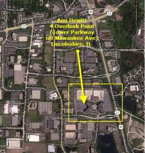 CAVMEN   Aon Hewitt 4 Overlook Point Campus Aerial Maps  Aerial Map 2