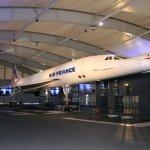 Concorde da Air France vai taxiar novamente somente com a força de seus motores