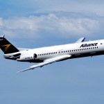 A companhia aérea australiana Alliance Air pretende adquirir oito aeronaves Fokker 100