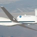 Aeronave não-tripulada Global Hawk da NASA completa primeira missão científica