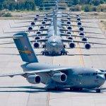 IMAGENS: Exercício de mobilidade da USAF movimenta diversas aeronaves C-17 e C-130