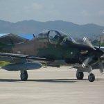 Chegam ao Equador mais dois aviões Super Tucano para FAE