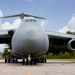 Lockheed Martin entrega oficialmente o primeiro C-5M Super Galaxy de produção para a U.S. Air Force