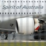 VÍDEO E IMAGENS: Falha em motor de um Airbus A380 da Qantas