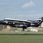 Aeronave Dominie da RAF chega no museu em Cosford onde será preservado