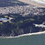 VÍDEOS E IMAGENS: Airbus A320 da Virgin America voa em formação com WhiteKnight Two sobre São Francisco