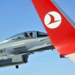 IMAGENS: Caças Eurofighter da Áustria escoltam jato do presidente turco