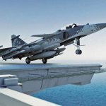 Saab vai finalizar trabalhos de design do Sea Gripen no Reino Unido
