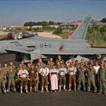 IMAGENS: Eurofighters da Luftwaffe participam do TLP na Espanha