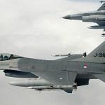 Caças F-16 da Holanda interceptam bombardeiros russos Tu-95