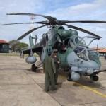FAB testa seus helicópteros russos Mi-35