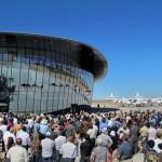 IMAGENS: Virgin Galactic inaugura o primeiro espaçoporto comercial do mundo