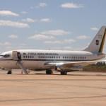 Museu Aeroespacial do Rio de Janeiro recebe avião presidencial VC-96