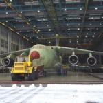Fica pronta na Rússia a primeira aeronave de transporte Il-476