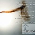 Boas Festas da Equipe Cavok Brasil