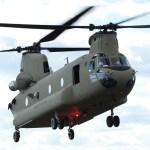 Boeing recebe contrato para fabricar 14 helicópteros CH-47F Chinook