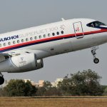 Sukhoi deve iniciar as entregas dos jatos Superjet 100 para Ásia Ocidental e México em 2012