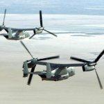 Acidente com aeronave CV-22 Osprey da Força Aérea dos EUA deixa cinco feridos