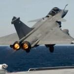 Rafale Naval compatível com porta-aviões dotados de rampa