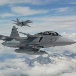 Suécia oferece emprestar caças Gripen usados para Suíça