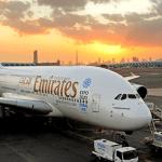 Emirates promove com o A380 campanha de Dubai para a Expo 2020