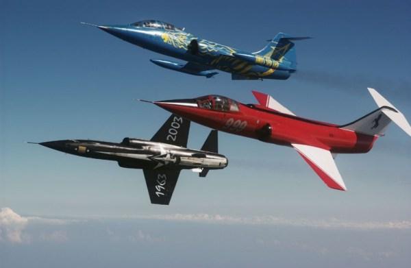 f 104asa m Ducati 999 014 600x391 - CAÇAS CENTURY: Lockheed F-104 Starfighter