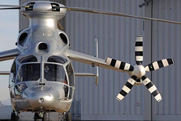 Detalhes do helicóptero X3 da Eurocopter. (Fotos: Eurocopter)