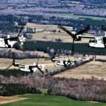 Bell Boeing recebe contrato para 99 aeronaves tiltrotoras V-22 Osprey