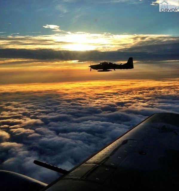 Os voos da operação eram realizados próximos da fronteira com a Bolívia. (Foto: Foto: Ten. Dianezi / 2°/3° GAV)