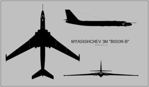 032 600x349 - Bombardeiros Soviéticos: Myasishchev M-4