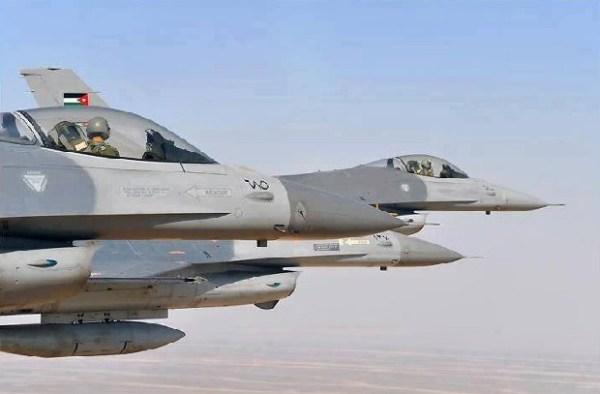 F-16 jordania
