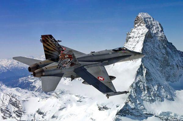 F-18 hornet suiça