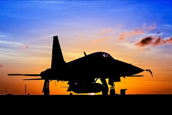 F-5 FAB sunset2