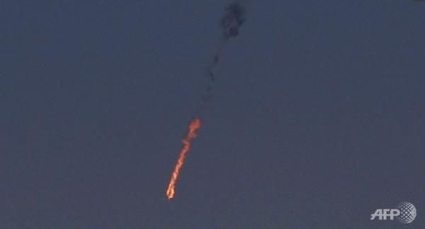 As forças de defesa israelense utilizaram um SAM Patriot para abater o avião sírio.