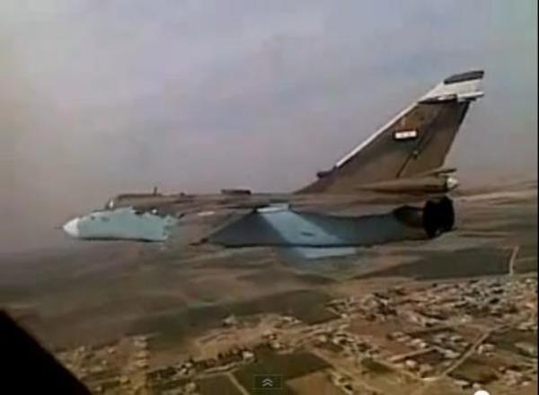 Su-24 Fencer da força aérea da Síria