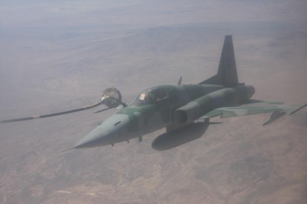 F-5EM da FAB durante REVO.