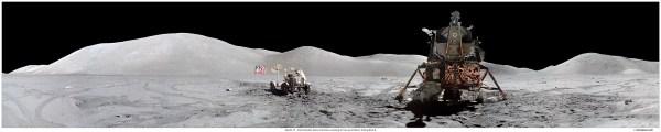 O LM da Apollo 17 foi o melhor de todos (Imagem: moonpans.com)