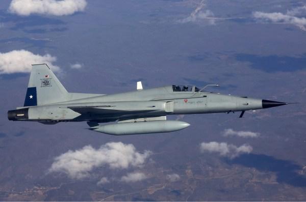 Os F-5E Tiger do Grupo 7 da Força Aérea do Chile mantiveram os argentinos ocupados em sua fronteira oeste durante a Guerra das Falklands/Malvinas.