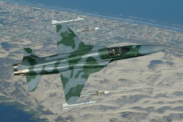 F-5M (Imagem: Força Aérea Brasileira)
