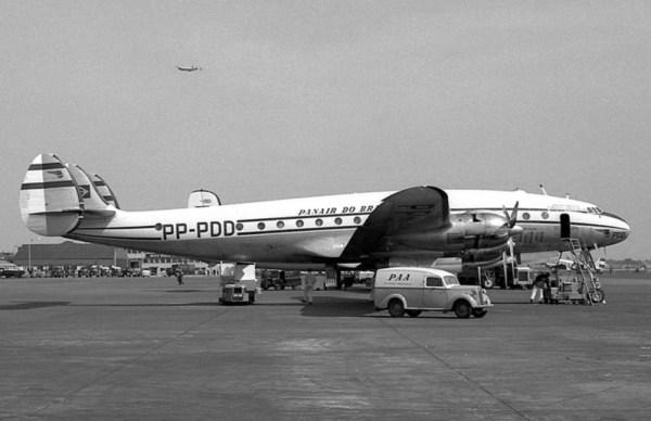 Panair do Brasil. PP-PDD, Lockheed L-049-46 Constellation Londres