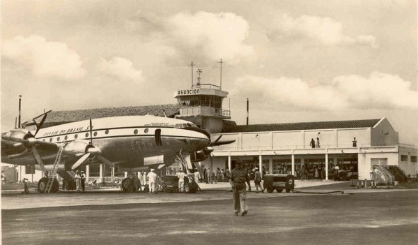 Panair do Brasil. PP-PDF, 1946 Lockheed L-049-46 Constellation