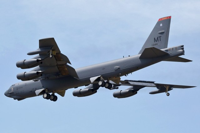 Boeing B-52H Stratofortress, Australia - Northern Territory, December 1, 2014 – Photo by Martin Porcelli