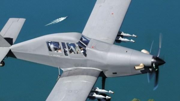 IOMAX Archangel Border Patrol Aircraft